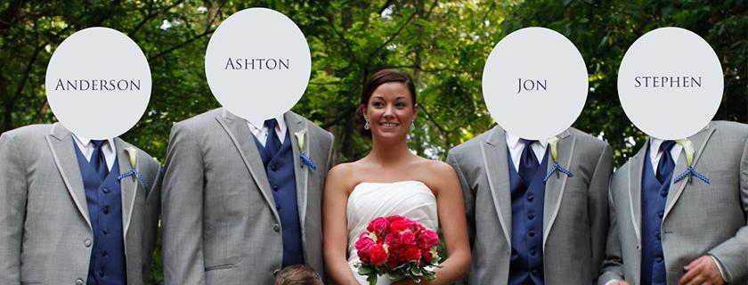 men, wedding
