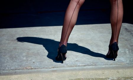 model, heels