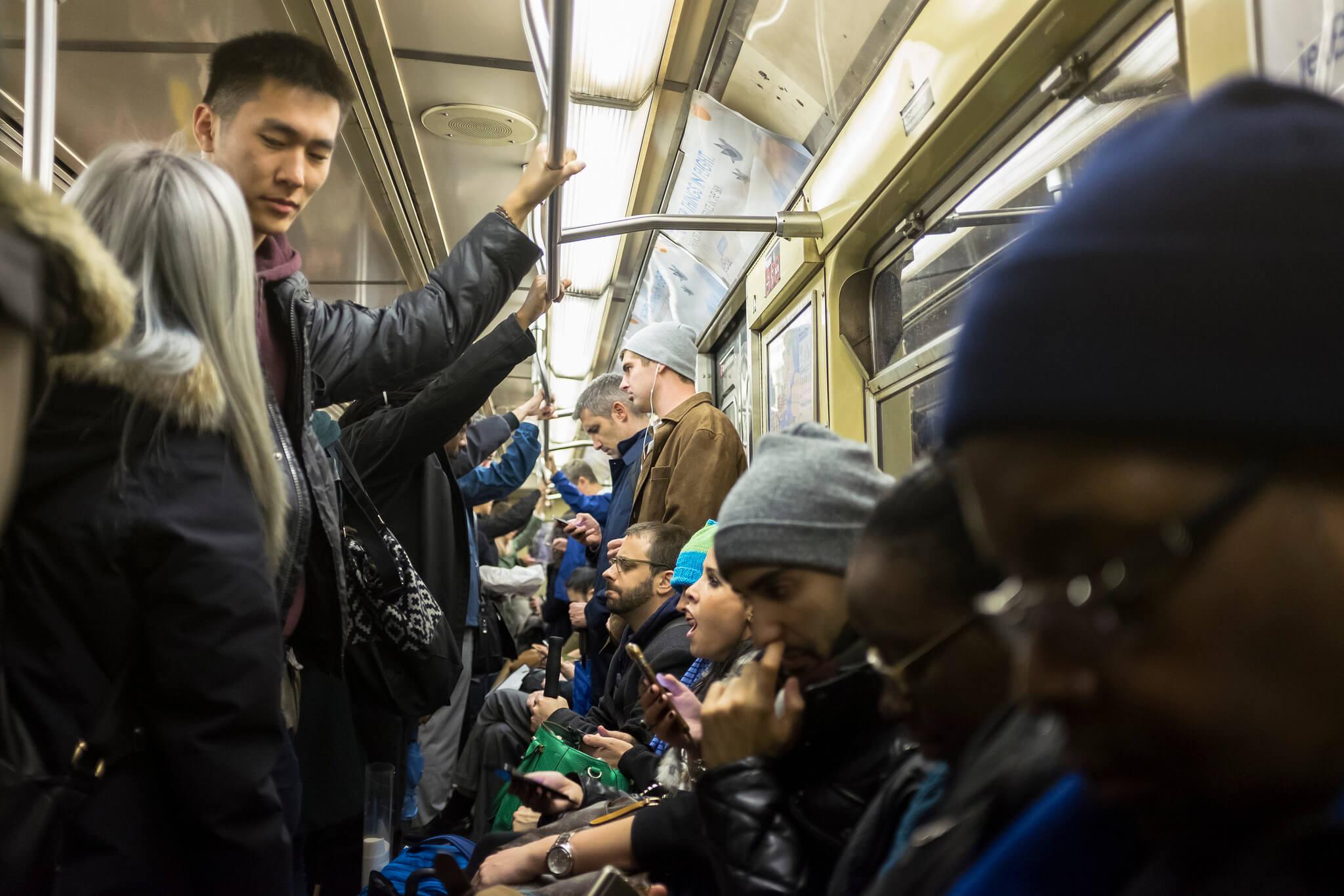 subway, train