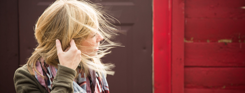 wind, hair