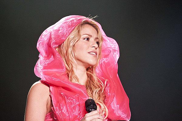 Shakira Leads the World Barefoot