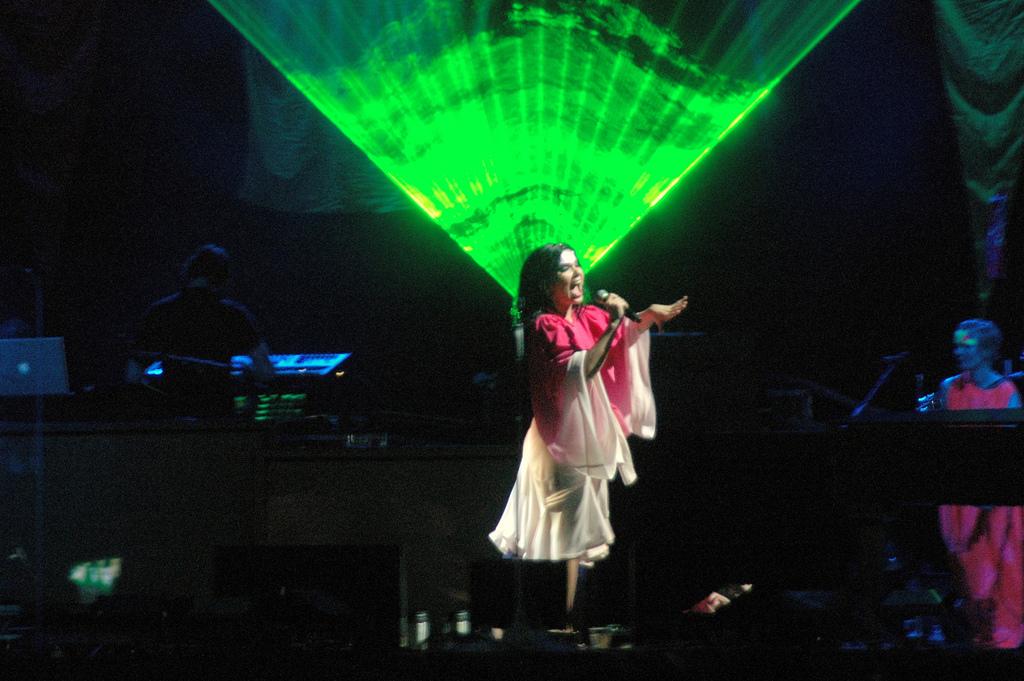 Björk Shuts Down Stereotypes