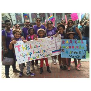 Radical Monarchs, Transgender march, Girl Troop,