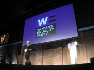 Women's Equality Party, Gender Equality, Catherine Mayer,