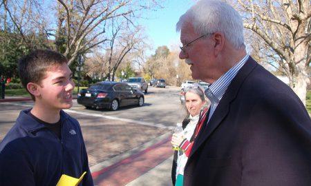 Two Teens Hold Congressman Accountable