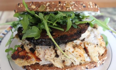 Chicken Sandwiches Just Got a Major Upgrade With a Side of Mozzarella Eggplant