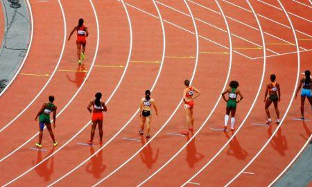 Pregnant at Track Championships