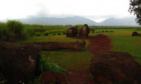 The Hawaiian Island of Oahu's Stonehenge was a Place of Royal Birthing