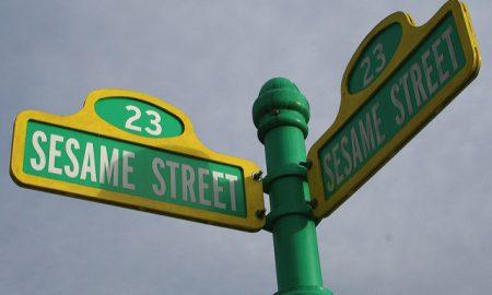 Sesame Street sign