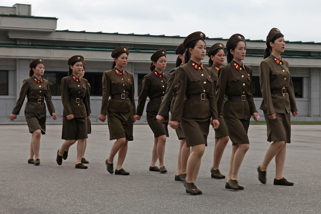 Image result for north korean militery women