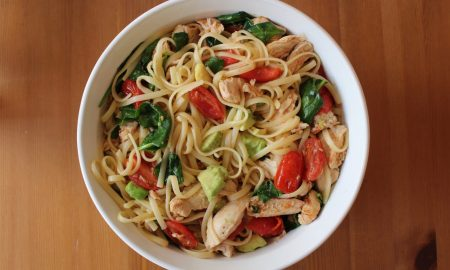 Lemon Chicken Pasta with Browned Garlic-Butter Sauce