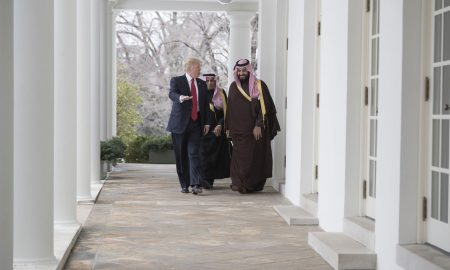 Saudi Arabian Crown Prince Visits U.S., Talks Women's Rights