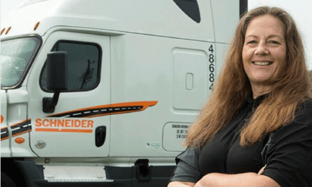 Women Truckers Leave Sexism in the Rearview Mirror