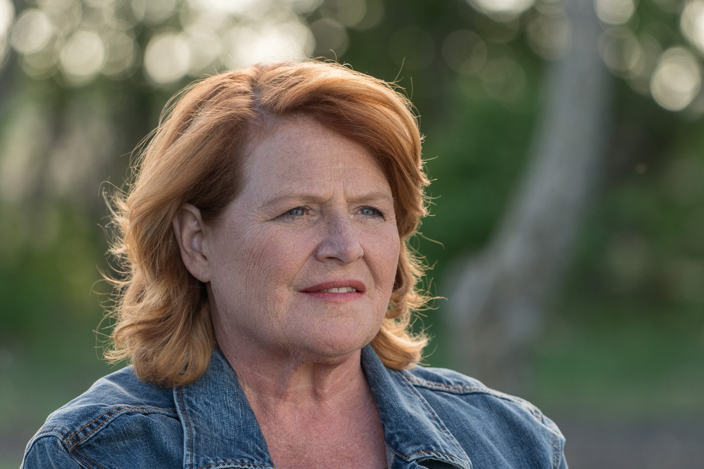 Heitkamp voted against Kavanaugh