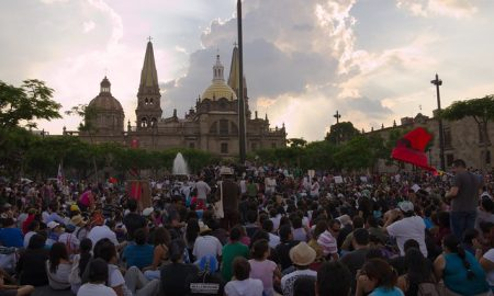 Crowd in Mexico