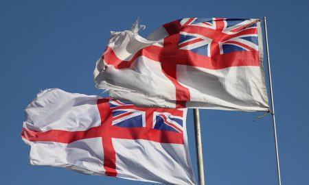 British flags