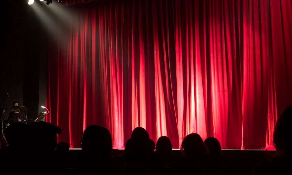 Comedy show stage