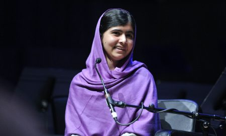 Image of Malala Yousafzai Speaking