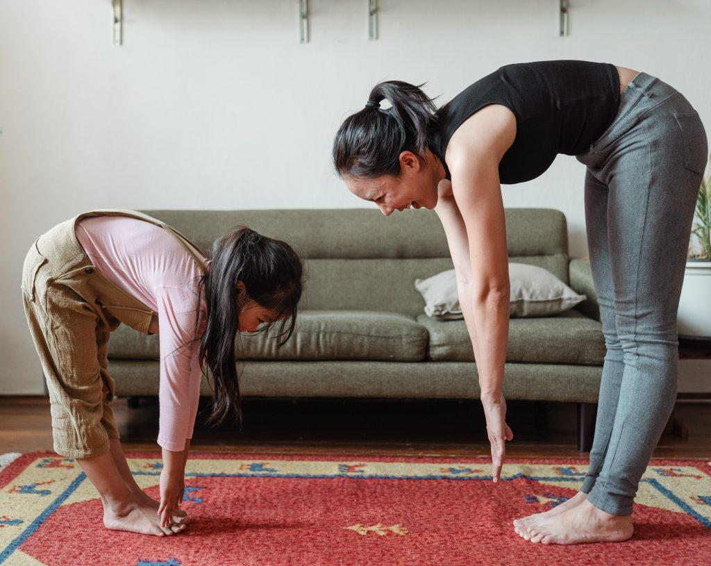Stretches to improve posture.
